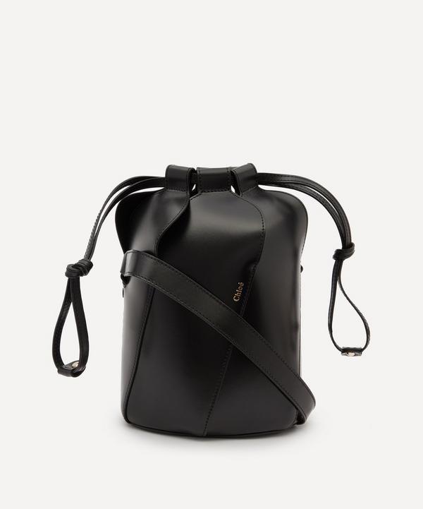 Chloé - Tulip Small Leather Bucket Bag
