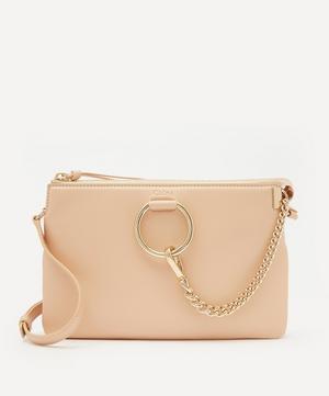 Faye Soft Leather Zipped Shoulder Bag