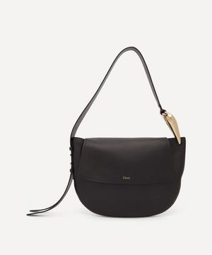 Kiss Leather Hobo Handbag