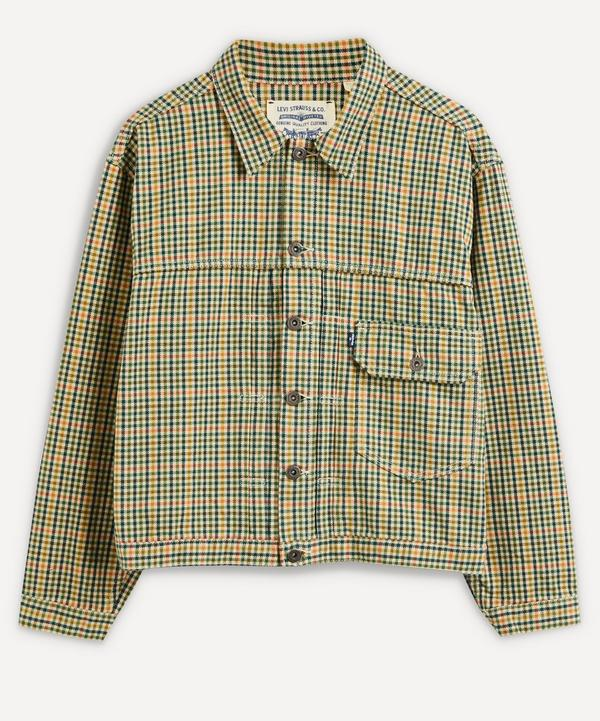 Levi's Made & Crafted - Type I Plaid Trucker Jacket