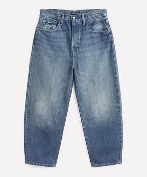 Barrel Ankle Crop Jeans