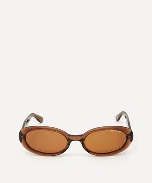 Valentina Oval Sunglasses