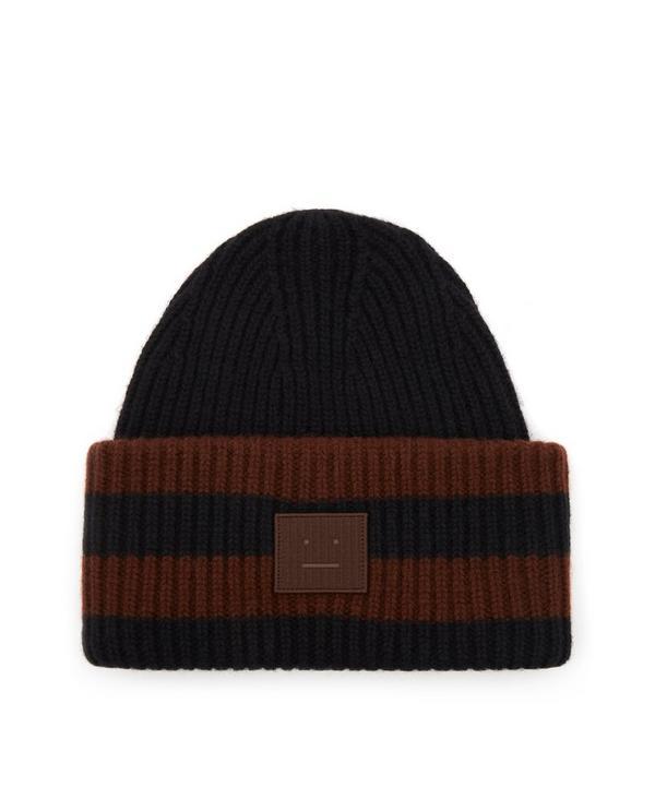 Acne Studios - Striped Wool Beanie Hat