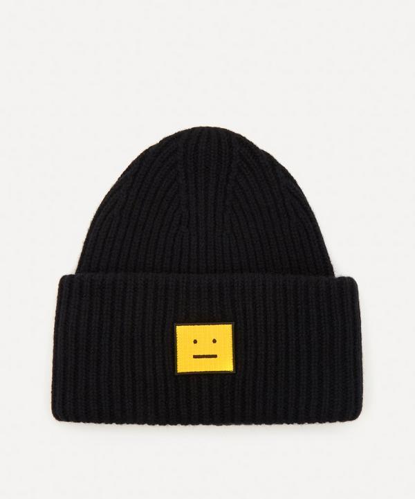 Acne Studios - Face Logo Beanie Hat