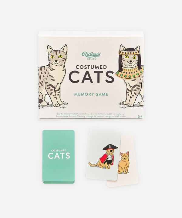 Wild And Wolf - Costumed Cats Memory Game
