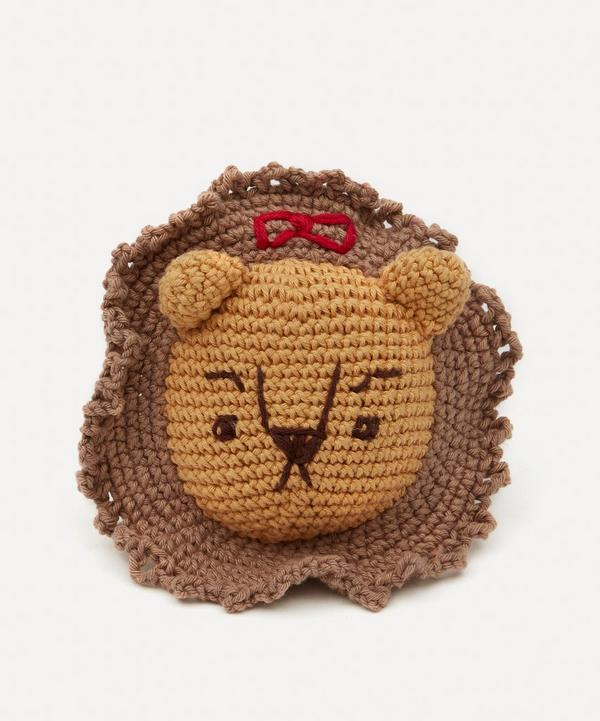 Hiro + Wolf - Cowardly Lion Squeaky Dog Toy
