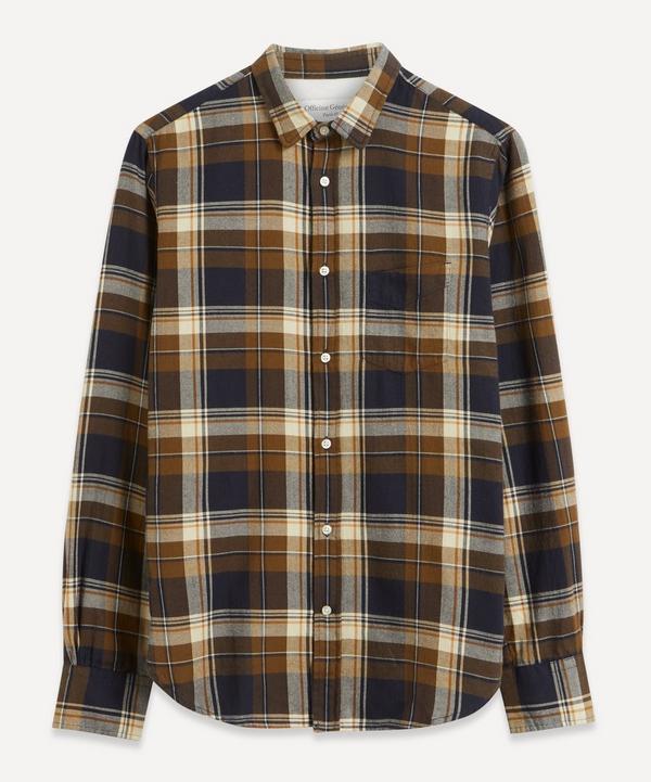 Officine Générale - Lipp Jap Brush Check Shirt