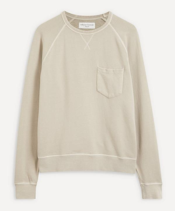 Officine Générale - Chris Loopback Cotton Sweatshirt