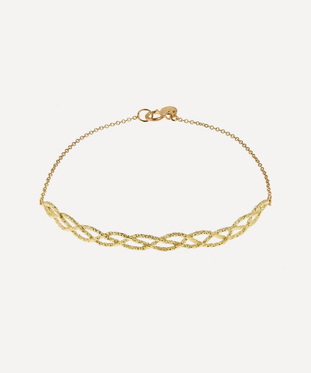Satomi Kawakita - 18ct Gold Medium Braided Bracelet