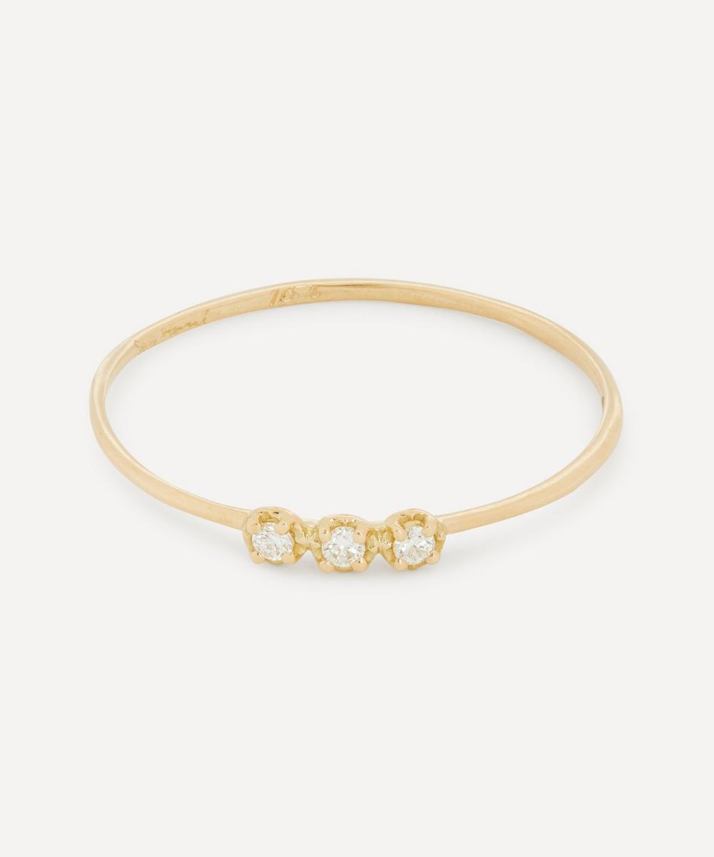 Satomi Kawakita - 18ct Gold Orion White Diamond Ring