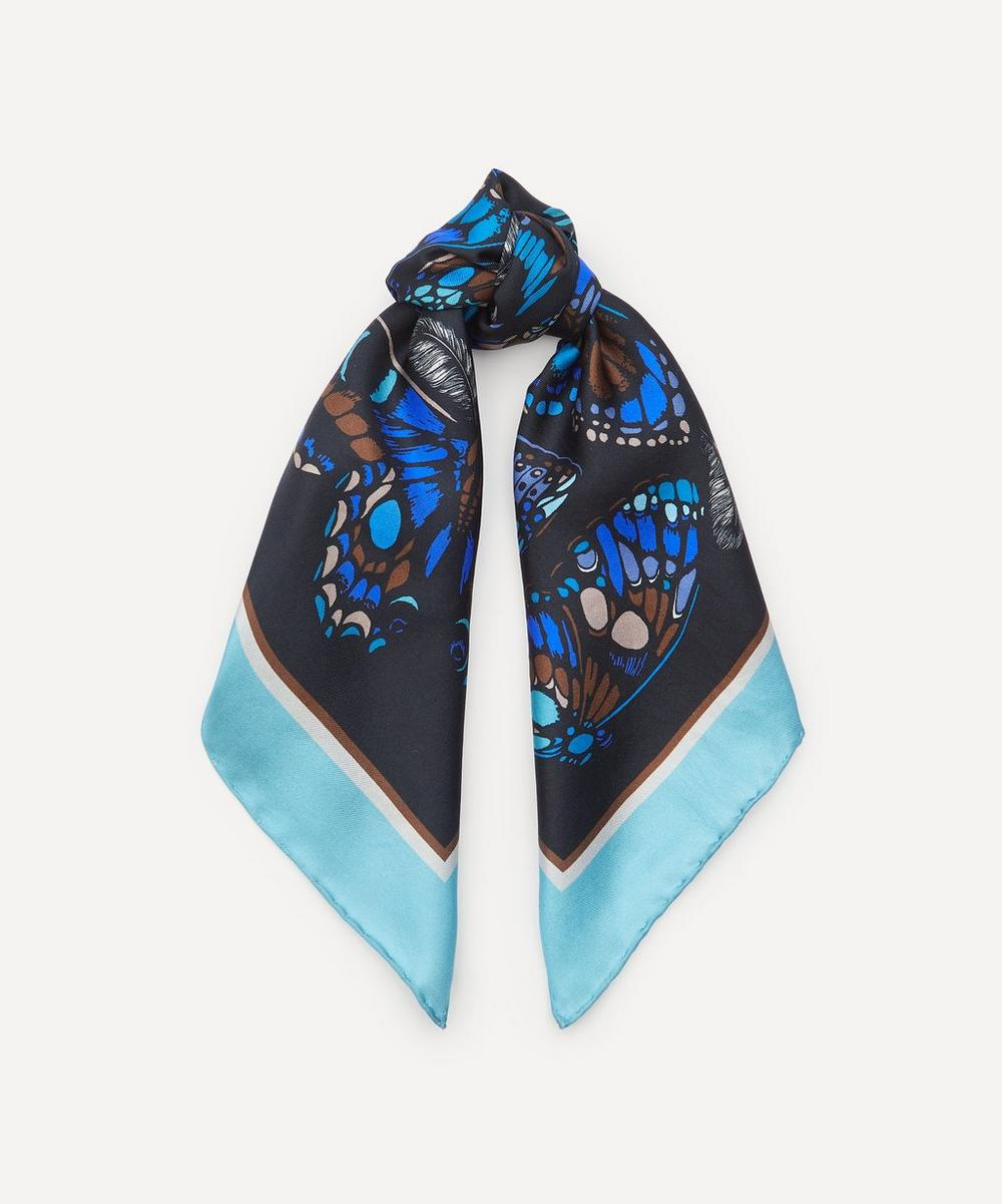 Emily Carter - The Tropical Butterfly Silk Neck Scarf