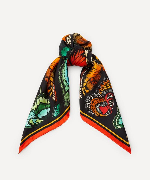 Emily Carter - The Tropical Butterfly Silk Scarf