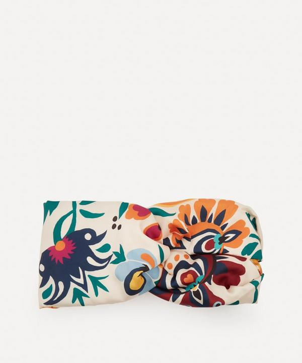 La DoubleJ - Selva Bianco Pinup Headband
