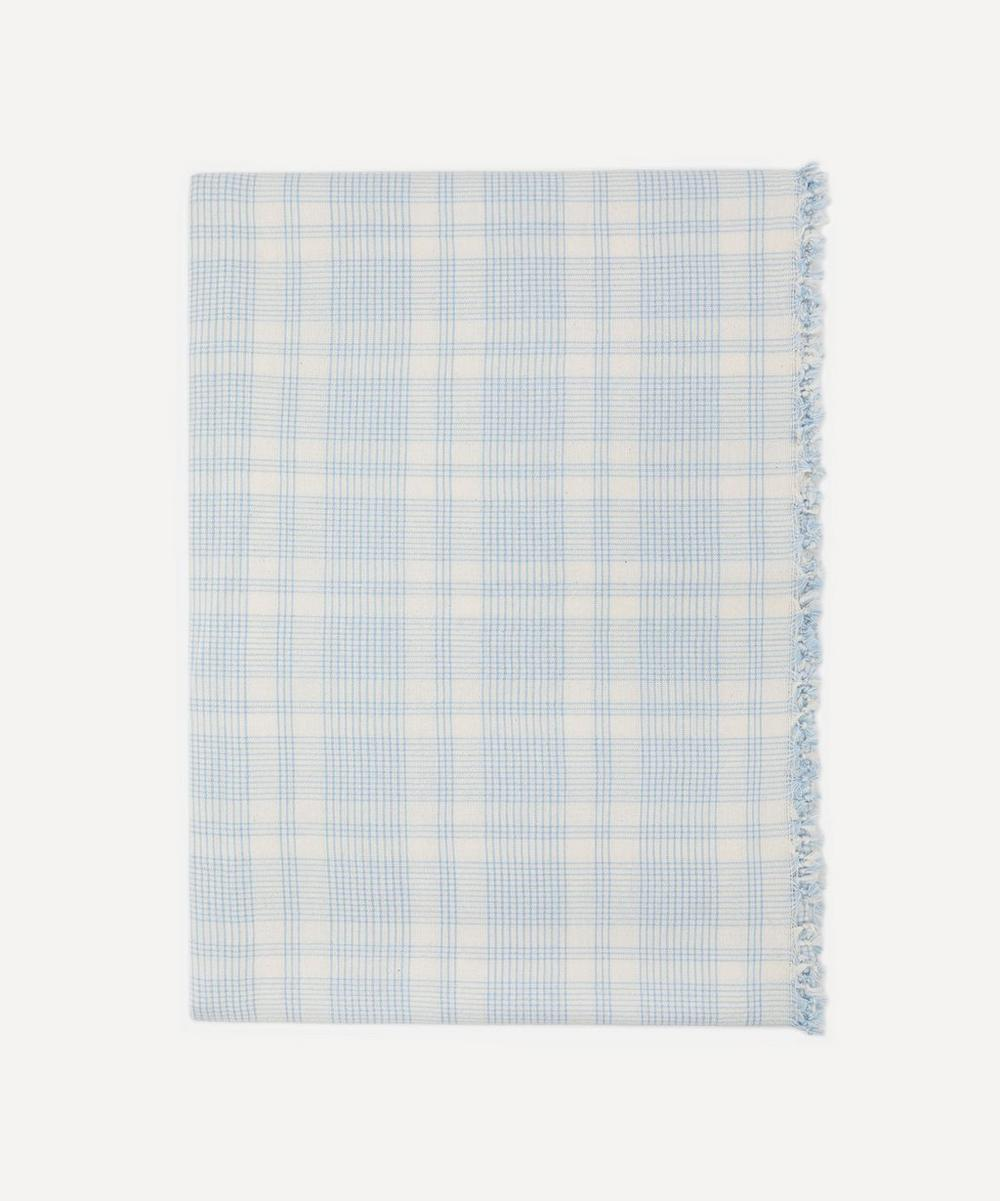 Heather Taylor Home - Marianne Plaid Cotton Tablecloth