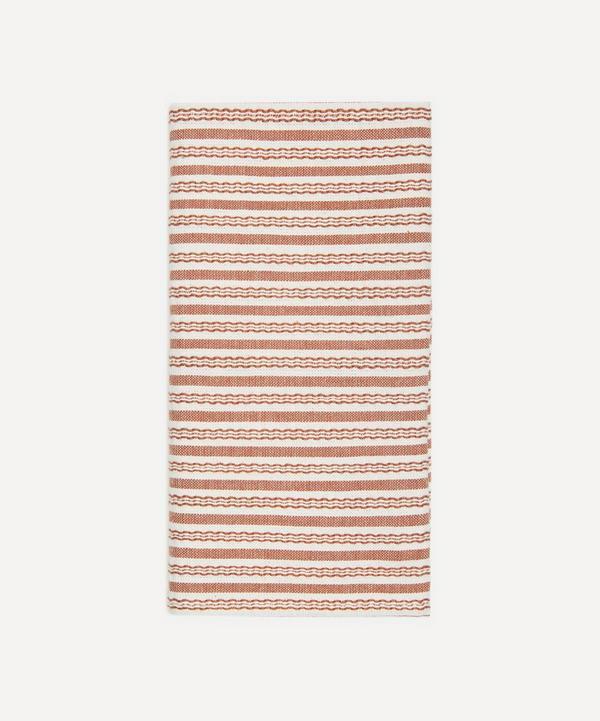 Heather Taylor Home - Canyon Stripe Cotton Napkins Set of Four