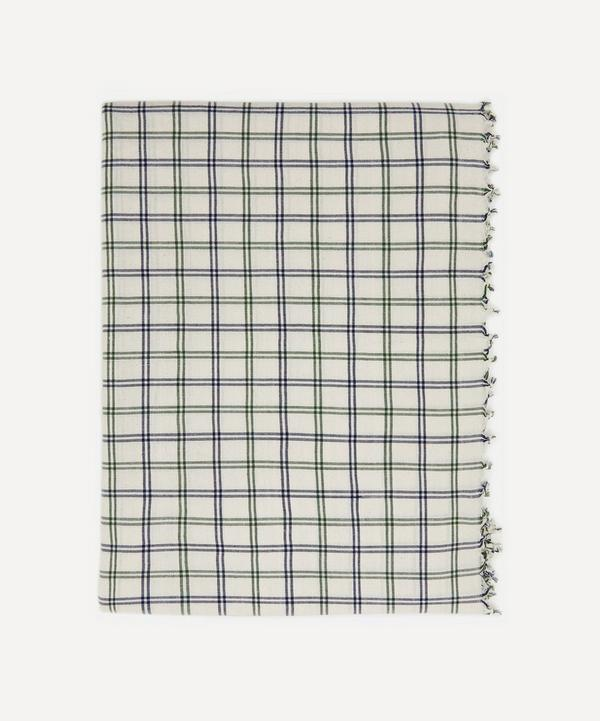 Heather Taylor Home - Mayfair Plaid Cotton Tablecloth