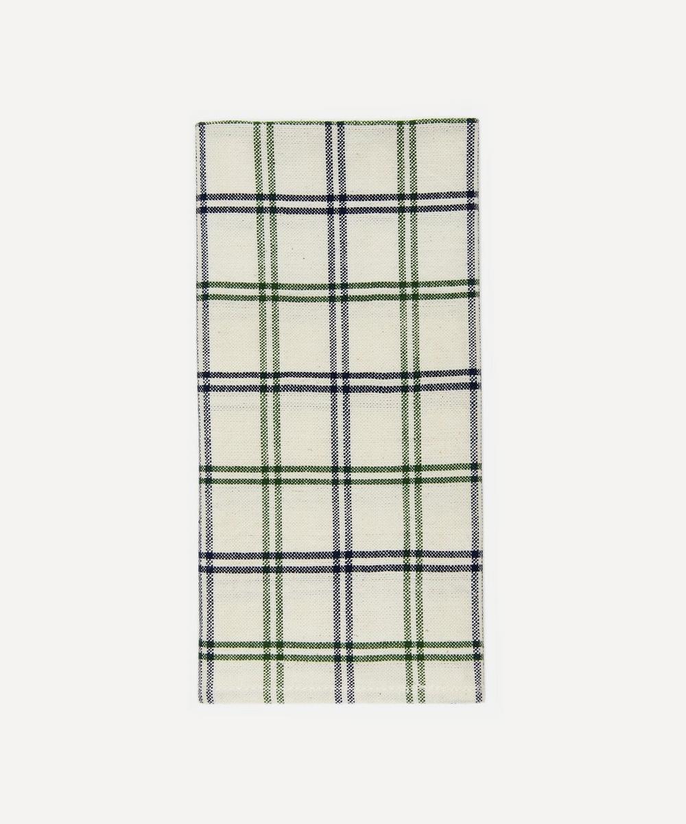 Heather Taylor Home - Mayfair Plaid Cotton Napkins Set of Four