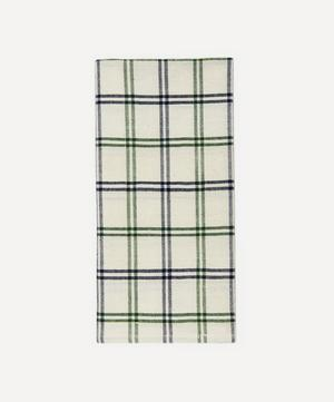 Mayfair Plaid Cotton Napkins Set of Four