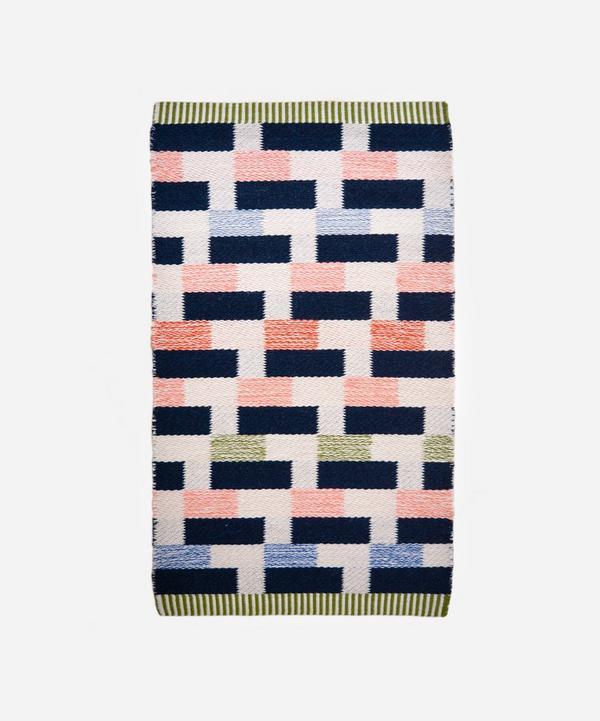 Epoch Textiles - Diagonal Grid Hand-Loomed Rug