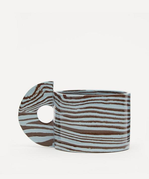 Henry Holland Studio - Brown and Blue Mug