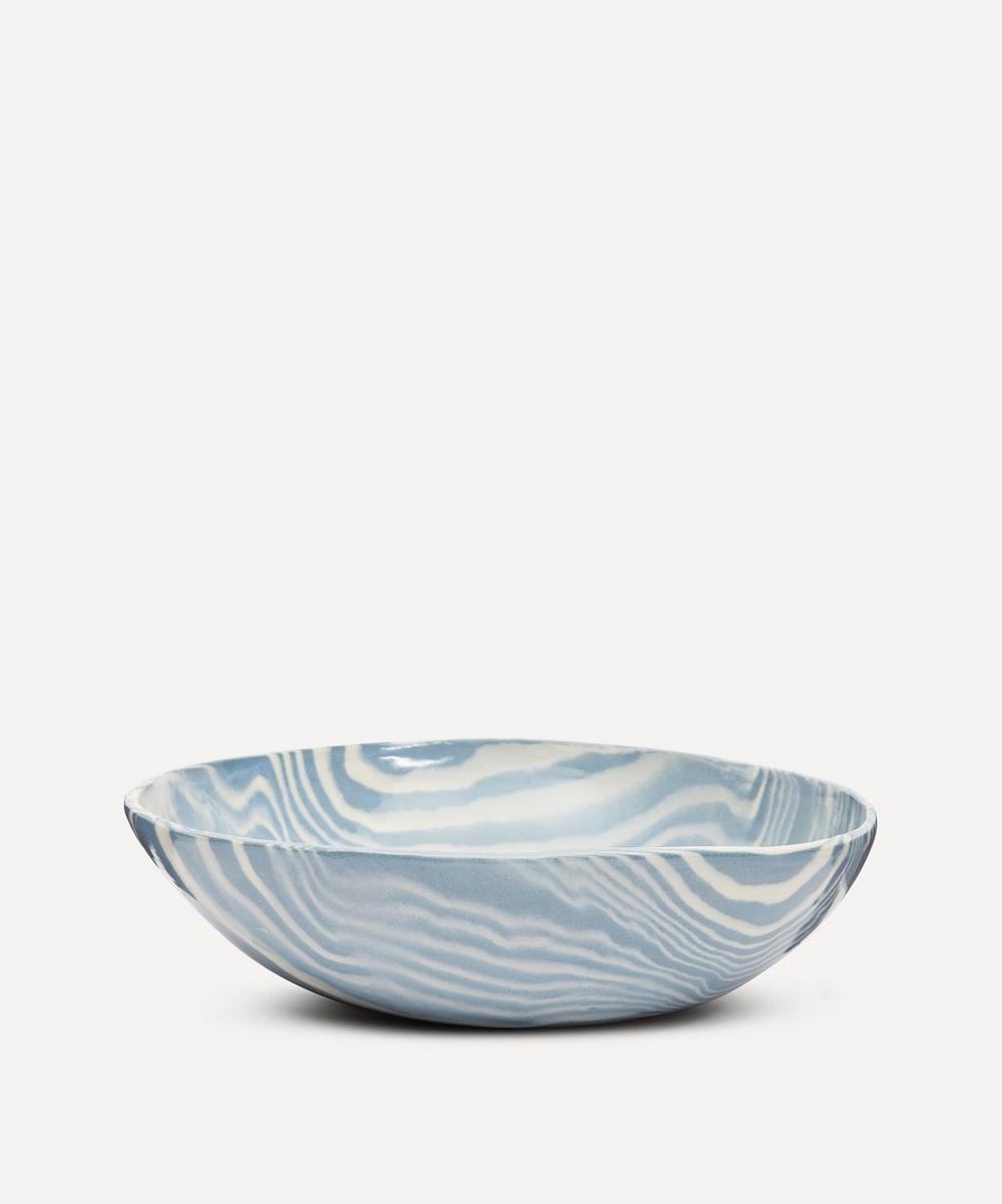 Henry Holland Studio - Blue and White Small Salad Bowl