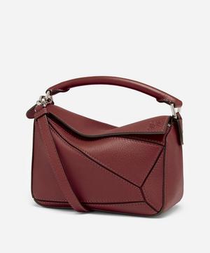 Mini Puzzle Leather Shoulder Bag