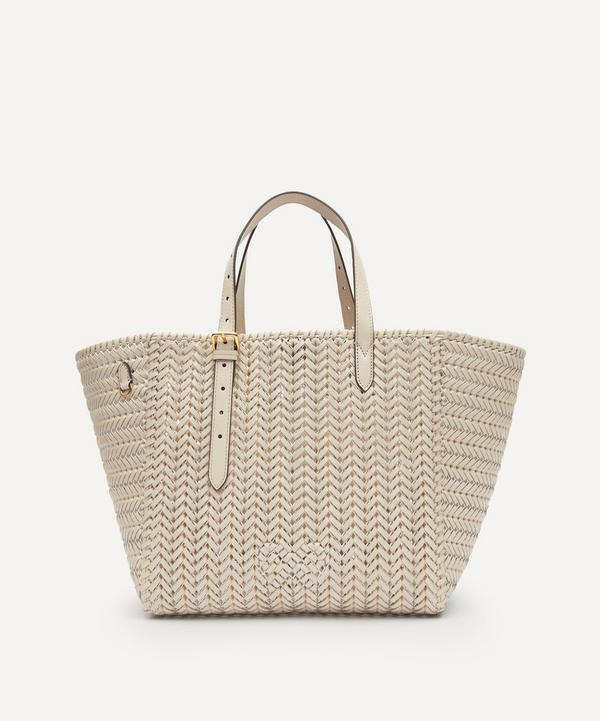 Anya Hindmarch - Neeson Woven Leather Square Tote Bag