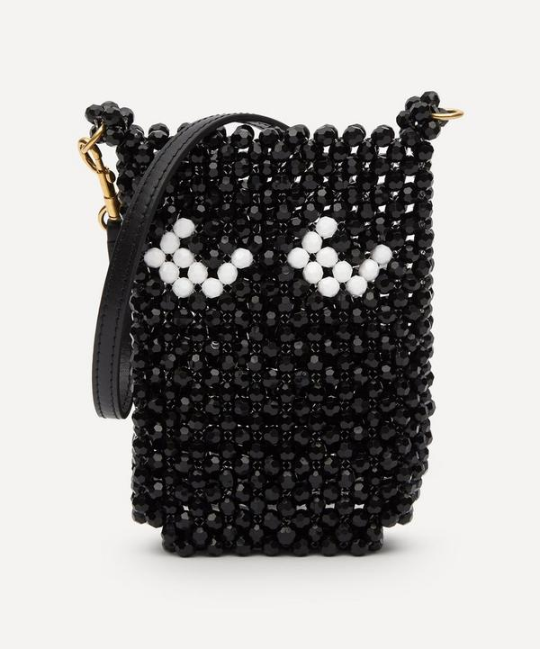 Anya Hindmarch - Eyes Beaded Pouch on Strap