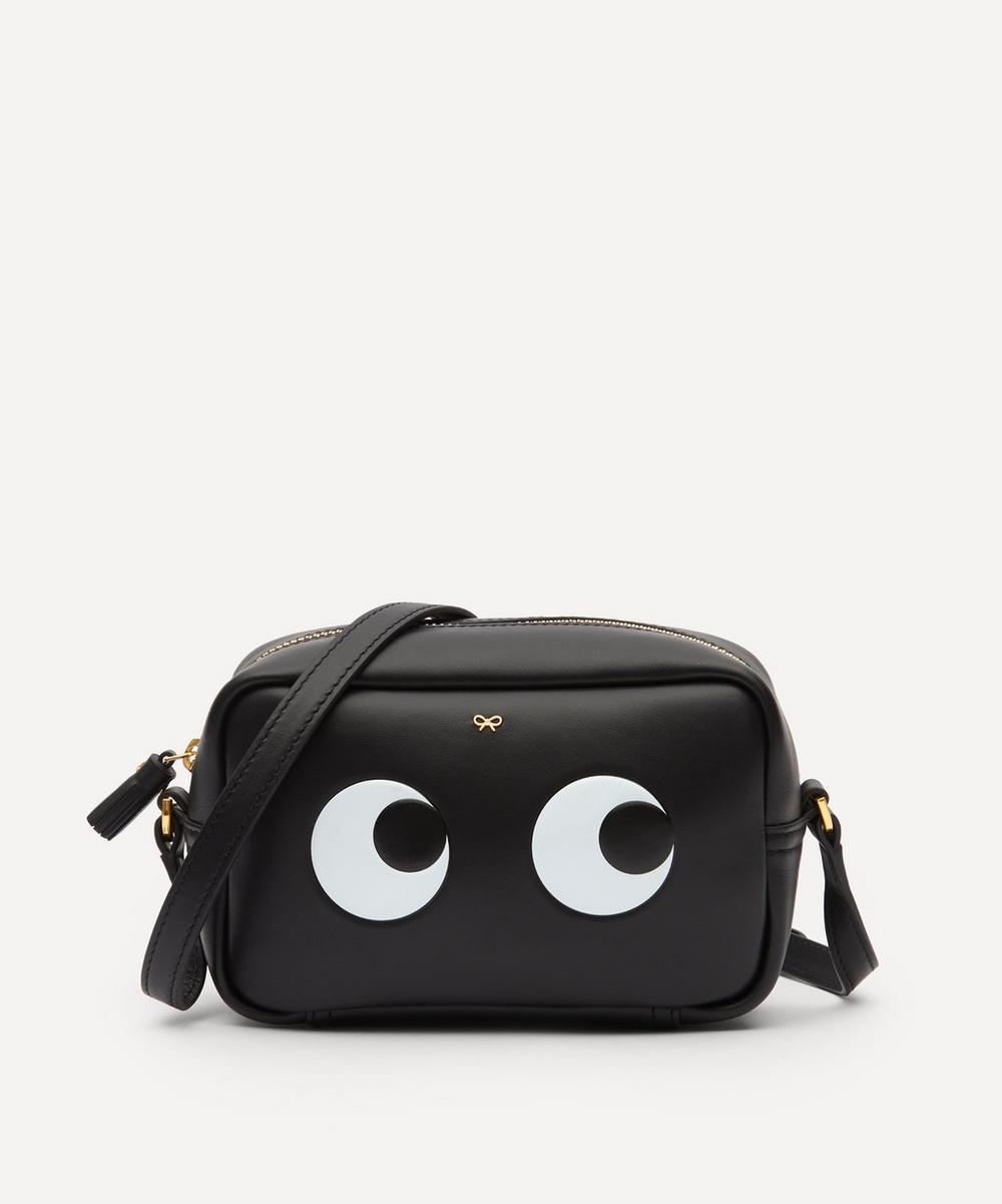 Anya Hindmarch - Mini Eyes Leather Cross-Body Bag