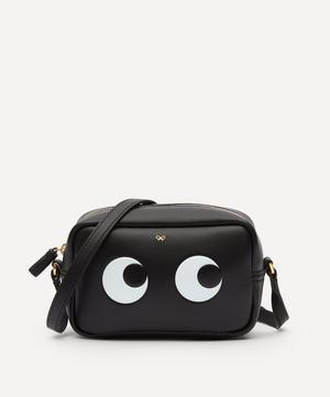 Mini Eyes Leather Cross-Body Bag