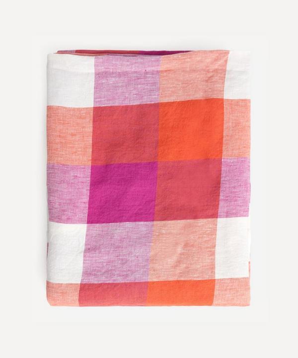 Society of Wanderers - Sherbet Check Tablecloth
