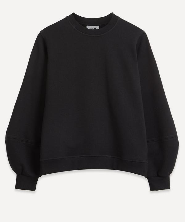Ganni - Software Puff-Sleeve Sweater