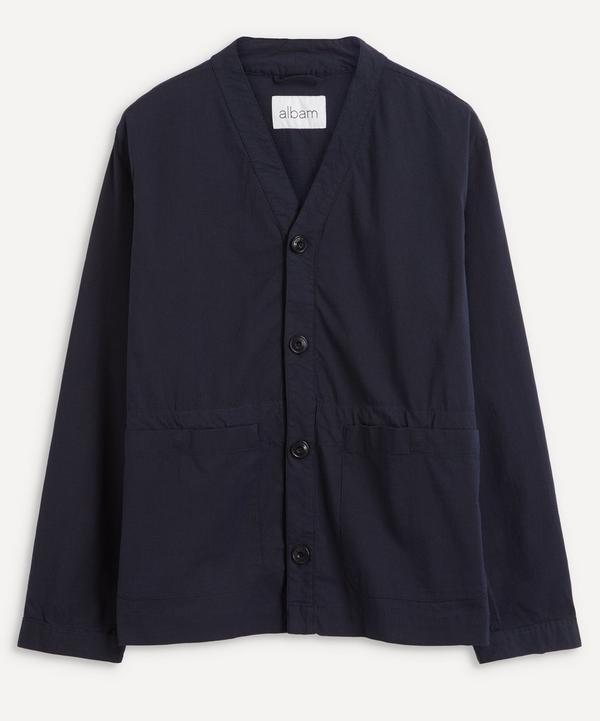 Albam - Collarless Twill Work Jacket