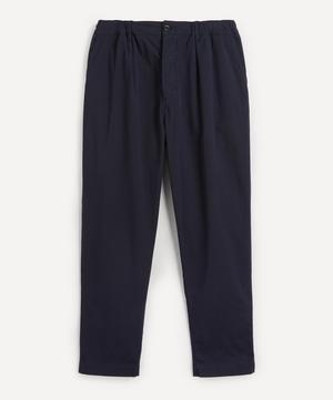 Casual Seersucker Trousers