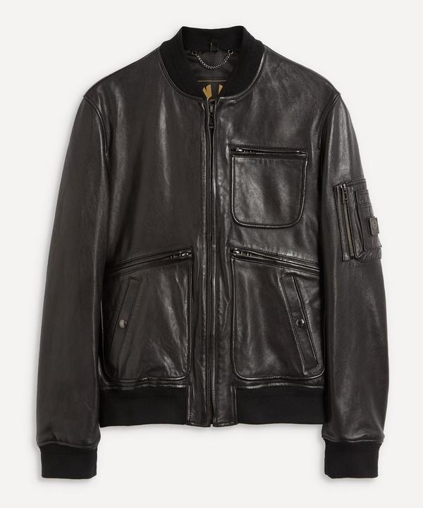 Belstaff - Finsbury Collarless Leather Jacket