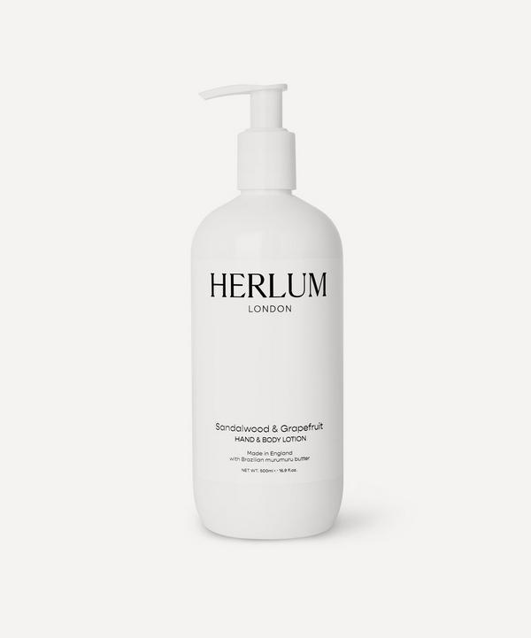 Herlum - Sandalwood & Grapefruit Hand Lotion 500ml