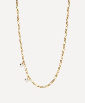 Gold-Plated Laylow Mother of Pearl Tweet Charm Necklace