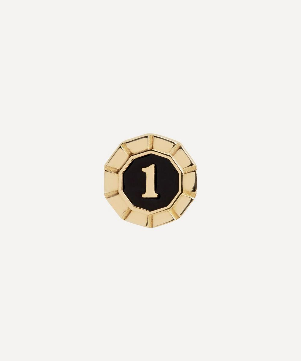 Maria Black - Gold-Plated Lucky Number 1 Coin