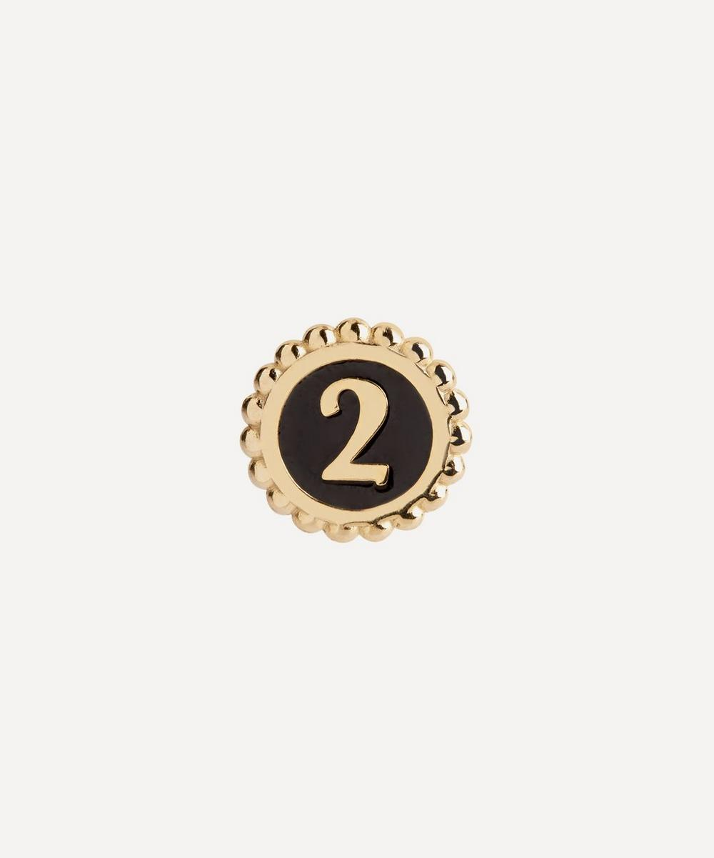 Maria Black - Gold-Plated Lucky Number 2 Coin