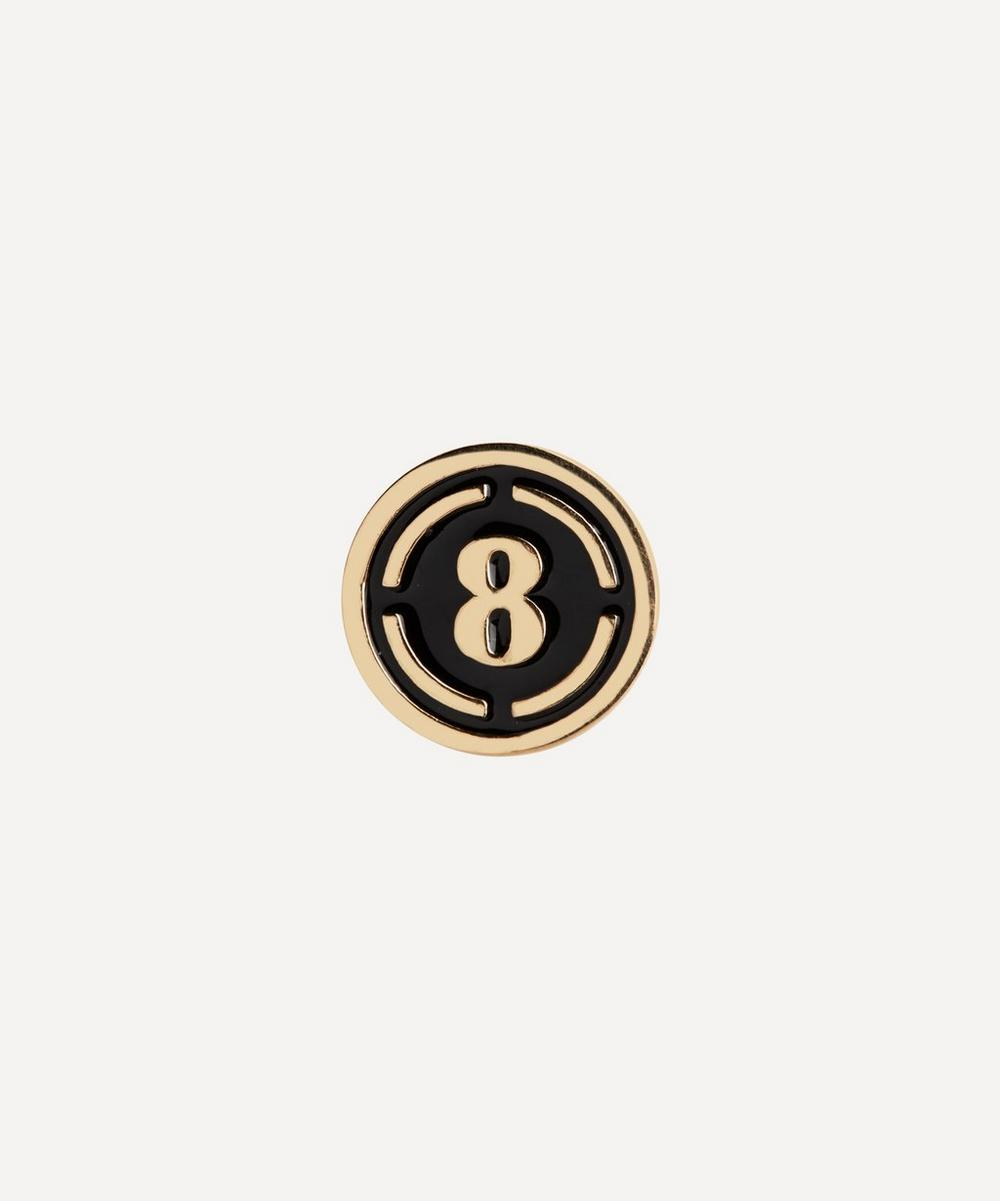 Maria Black - Gold-Plated Lucky Number 8 Coin