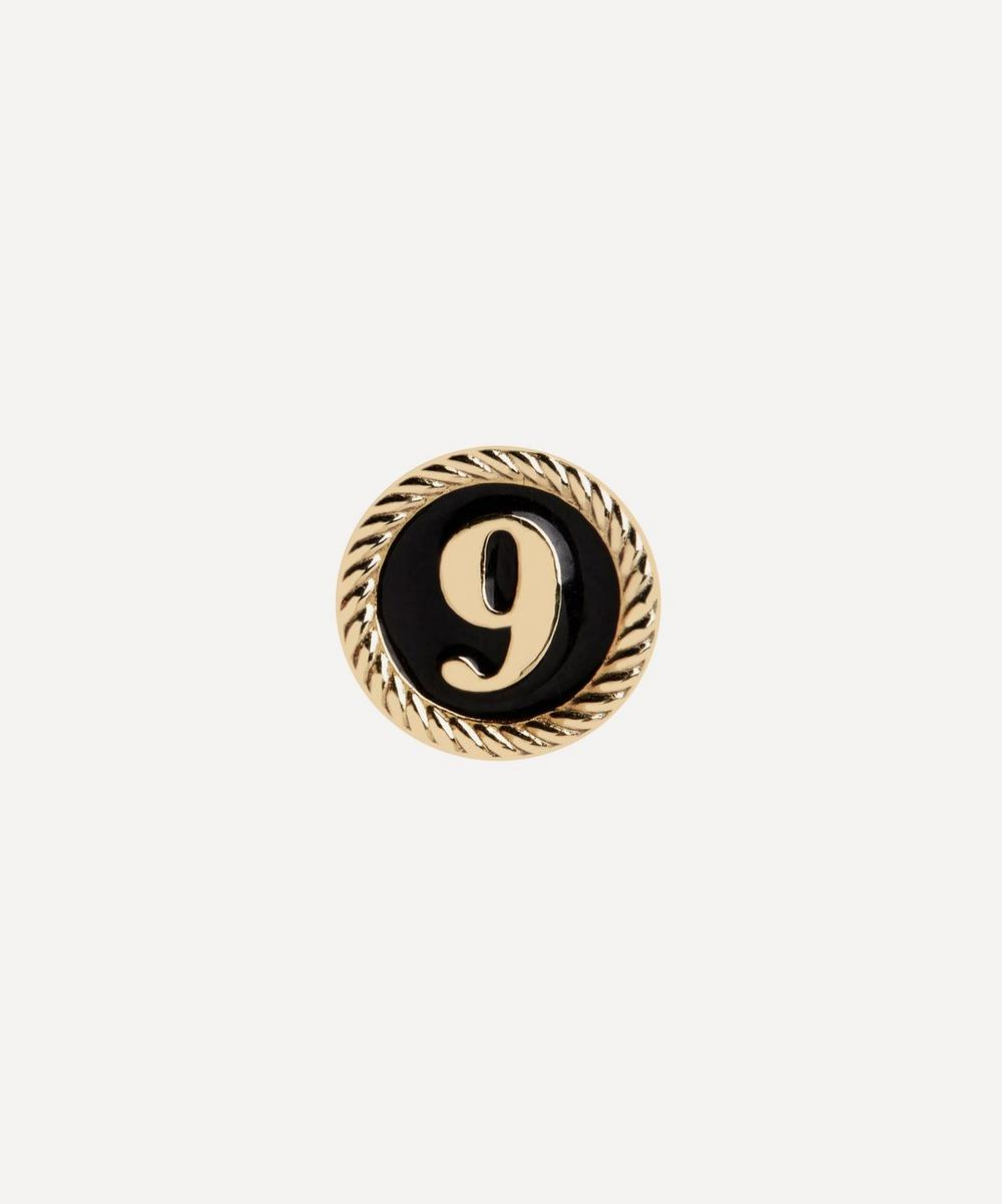 Maria Black - Gold-Plated Lucky Number 9 Coin