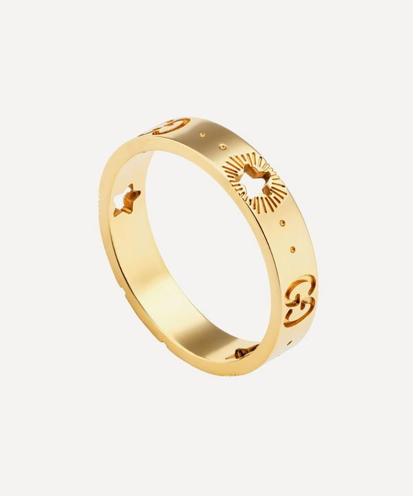 Gucci - 18ct Gold Icon Star Ring