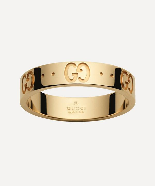 Gucci - 18ct Gold Icon Thin Ring