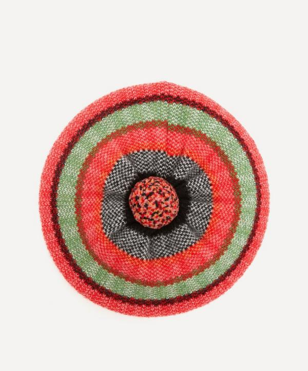 Quinton Chadwick - Tweed Stripe Wool Beret