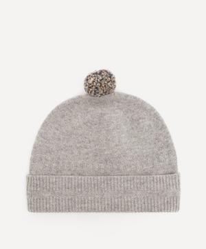 Pom Pom Wool Beanie Hat