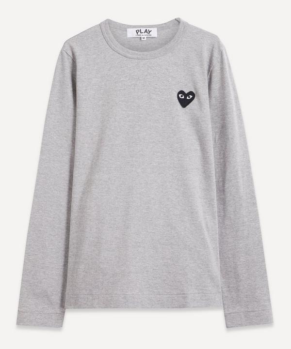 Comme des Garçons Play - Heart Logo Long-Sleeve T-Shirt