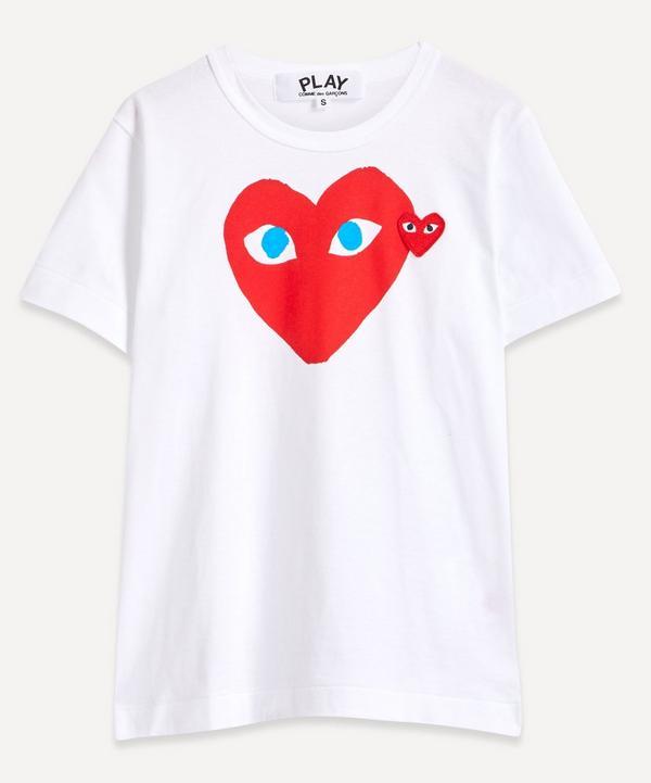 Comme des Garçons Play - Heart Logo Short-Sleeve T-Shirt