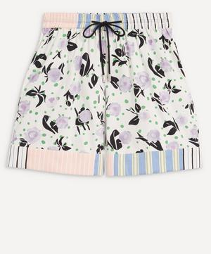 Klodi Mix Print Shorts