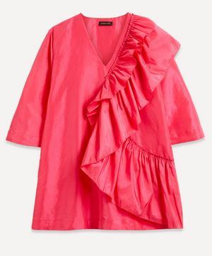 Marina Frill Mini-Dress