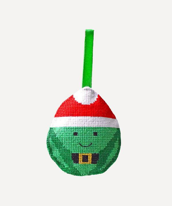 Bobo Stitch - Brussel Sprout Christmas Decoration Cross Stitch Kit